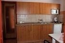 Apartman AQUA B podkrovie kuchyňa